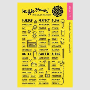 Waffle Flower Photopolymer Stamp Set- Plan To Glow (271082)