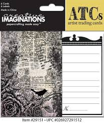 Creative Imaginations ATCs Artist Trading Cards - Life As Art (29151)