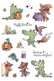 LDRS Creative - Clear Photopolymer Stamps - Halloween - Spook Ya Later Alligator (3249)