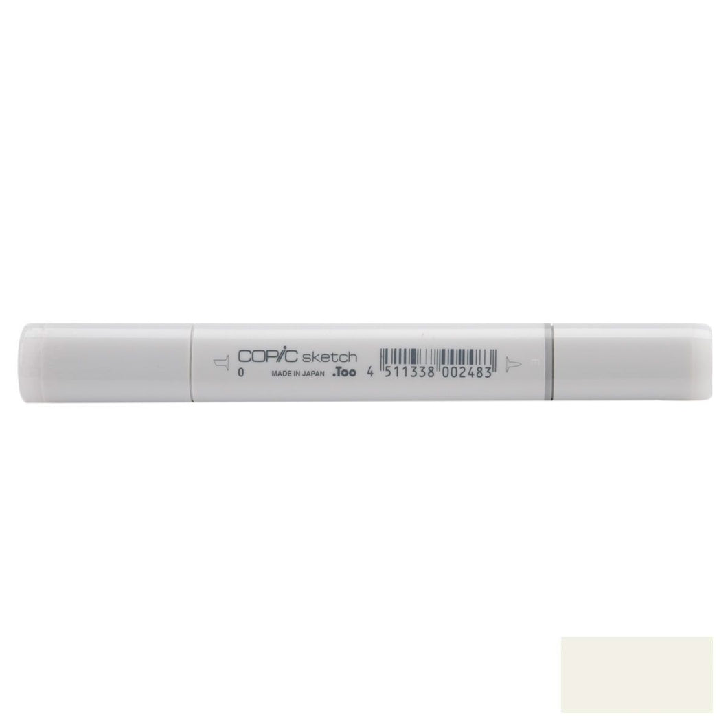 Copic Sketch Markers-Warm Gray #0 SM-W0S