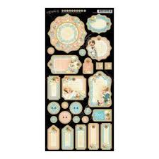 Graphic 45 Precious Memories Collection Chipboard 1 (4501096)