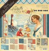 Load image into Gallery viewer, Graphic 45 Deluxe Collector's Edition Papercrafting Set - By The Sea (4501832)