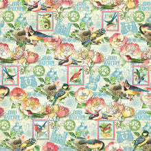 Load image into Gallery viewer, PRE-ORDER Graphic 45 Bird Watcher Collection 12X12 Scrapbook Paper - Just Breath (4502206)
