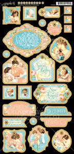 Graphic 45 Precious Memories Collection Chipboard 2 (4501095)