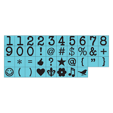 Prima Press - Number Stamp Set (560874) - Retired