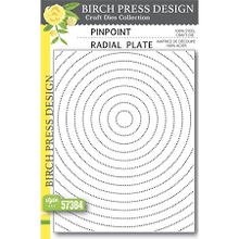 Load image into Gallery viewer, Birch Press Design - Pinpoint Radial Plate (57384)