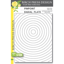 Birch Press Design - Pinpoint Radial Plate (57384)
