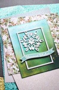 Birch Press Design Mini Snowflake Frame Layer A (57391)