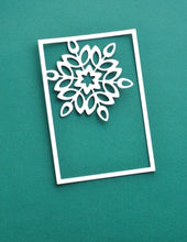 Load image into Gallery viewer, Birch Press Design Mini Snowflake Frame Layer A (57391)