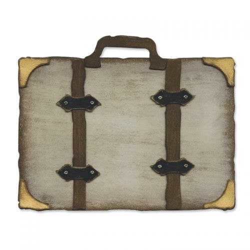 Sizzix Tim Holtz Alterations Movers & Shapers Bigz L Die - Vintage Valise (657219)