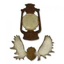 Load image into Gallery viewer, Sizzix Movers & Shapers Mini Lantern & Antlers by Tim Holtz (658774)