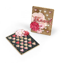 Load image into Gallery viewer, Sizzix Eileen Hull- Thinlits- Journaling Cards, Hearts (662812)