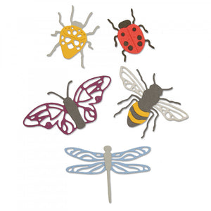 Sizzix Thinlits- Insects (663423)