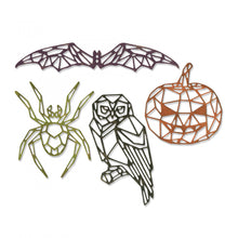 Load image into Gallery viewer, Sizzix Tim Holtz Thinlits- Geo Halloween (664208)