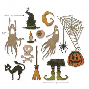 Sizzix Tim Holtz Thinlits- Frightful Things (664209)