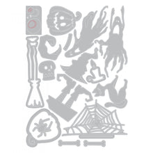 Load image into Gallery viewer, Sizzix Tim Holtz Thinlits- Frightful Things (664209)