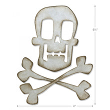 Load image into Gallery viewer, Sizzix Tim Holtz Bigz- Skull and Crossbones (664215)