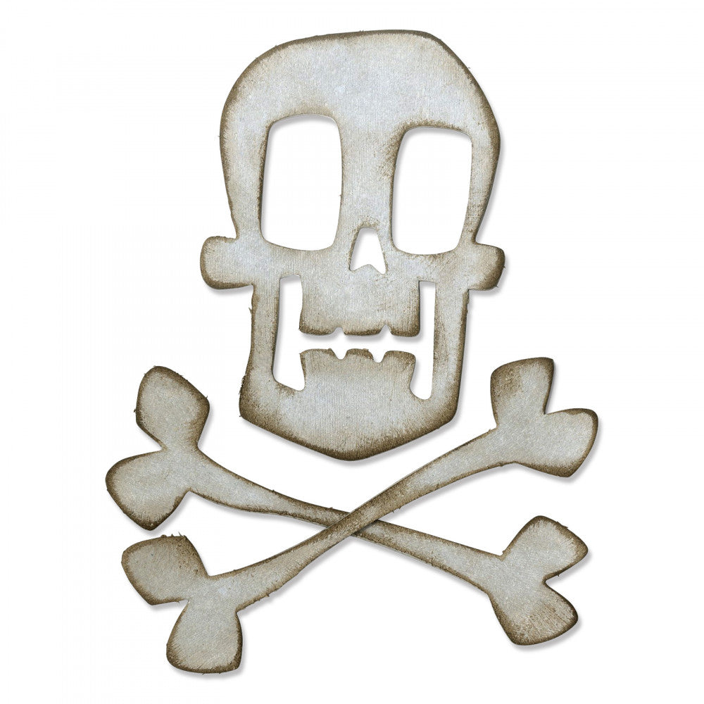 Sizzix Tim Holtz Bigz- Skull and Crossbones (664215)