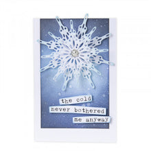 Load image into Gallery viewer, Sizzix Thinlits Fanciful Snowflakes by Tim Holtz (664227)