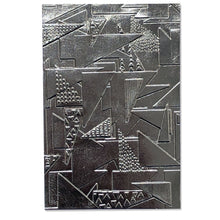 Load image into Gallery viewer, Pre-Order Sizzix 3-D Textured Impressions Embossing Folder- Doodle Triangles (664528)