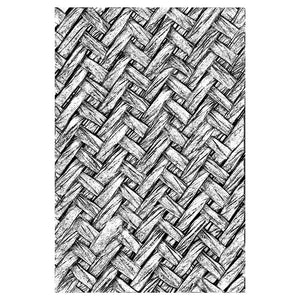 Sizzix 3-D Texture Fades Embossing Folder - Intertwine by Tim Holtz (664759)