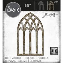 Load image into Gallery viewer, Sizzix Bigz Die - Cathedral Windows by Tim Holtz (664974)