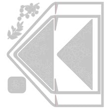 Load image into Gallery viewer, Pre-Order Sizzix Thinlits Die Set 7PK - Foliage Envelope Liners (665077)