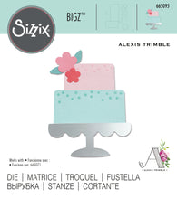 Load image into Gallery viewer, Sizzix Bigz Die - Celebration Cake (665095)