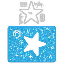 Load image into Gallery viewer, Pre-Order Sizzix Impresslits Embossing Folder - Celestial (665109)