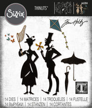 Load image into Gallery viewer, Sizzix Thinlits Die Set 14PK - The Park by Tim Holtz (665204)