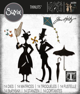 Sizzix Thinlits Die Set 14PK - The Park by Tim Holtz (665204)