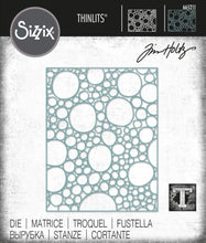 Load image into Gallery viewer, Sizzix Thinlits Die - Bubbles by Tim Holtz (665211)