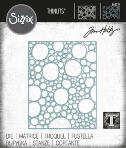 Sizzix Thinlits Die - Bubbles by Tim Holtz (665211)