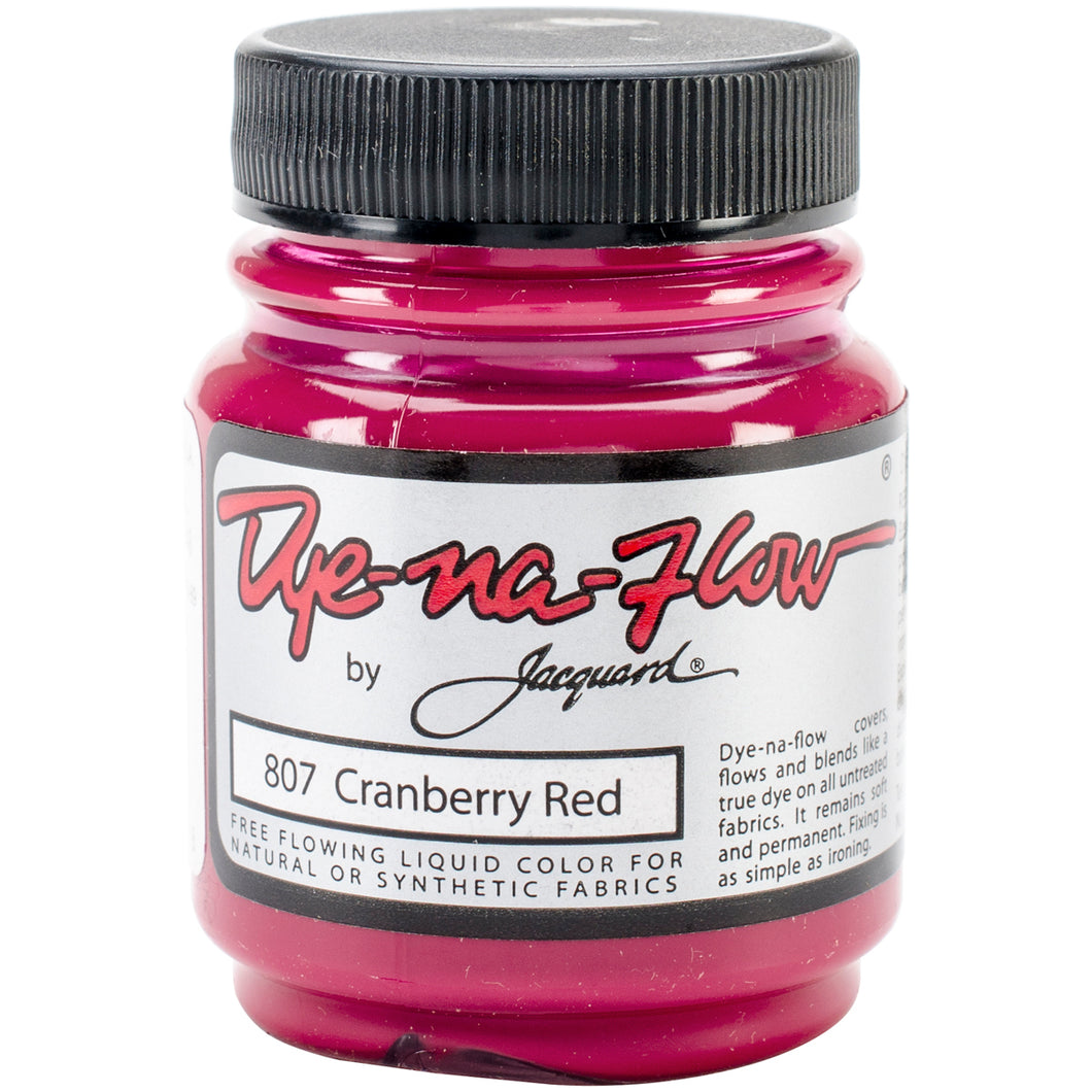 Dye-Na-Flow by Jacquard: 807 Cranberry Red