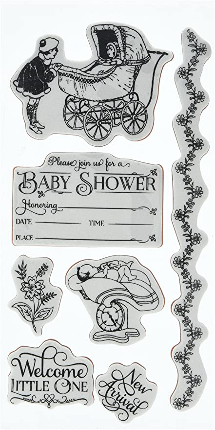 Graphic 45 Cling Mounted Rubber Stamps - Precious Memories 2 (ICO330)