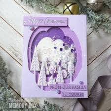 Memory Box Craft Die - Wooded Glen Collage (94505)