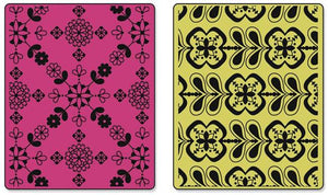 Sizzix- Textured Impressions- Kaleidoscope Bloom Set (657816) - RETIRED