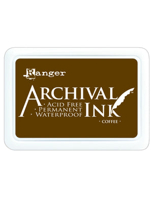 Ranger Archival Ink Pad - Coffee: AIP31451