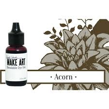 Wendy Vecchi Make Art Blendable Dye Ink Reinker - Acorn (WVR62684)