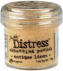 Tim Holtz Distress Powder Antique Linen - TIM21087 - RETIRED