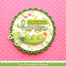 Load image into Gallery viewer, Lawnfawn Photopolymer Clear Stamps - Be Hap-pea (LF1890)
