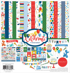 Carta Bella Paper Co. Collection Kit - Let's Celebrate (CBCB129016)
