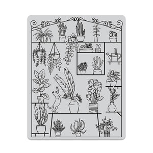 Hero Arts Greenhouse Peek-A-Boo Cling Stamp CG802
