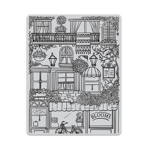 Hero Arts Flower Shop Background Cling Stamp (CG828)