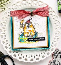 Load image into Gallery viewer, Stampers Anonymous Tim Holtz Collection - Snarky Cat Christmas (CMS416)