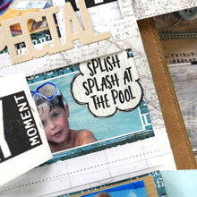 Load image into Gallery viewer, Elizabeth Craft Designs Planner Essentials Clear Stamp - Vacay Phrases (CS192)