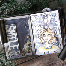 Load image into Gallery viewer, Elizabeth Craft Designs Art Journal Specials - Lady & Gentleman Clear Stamp Set (CS206)