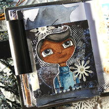 Load image into Gallery viewer, Elizabeth Craft Designs Art Journal Specials - Cute Winter Couple Clear Stamp Set (CS207)