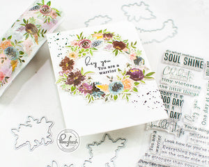 Pinkfresh Studios Coordinating Die Set - Floral Elements (PFCC1819)