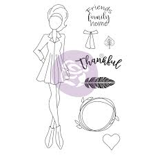 Prima Julie Nutting Cling Stamp - Clair (913199)